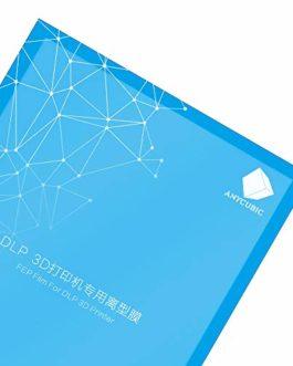 ANYCUBIC Film FEP 1 PCS, Feuille de Remplacement de Film Téflon 200 x 140 x 0,15 mm pour Imprimante 3D en Résine Photon…