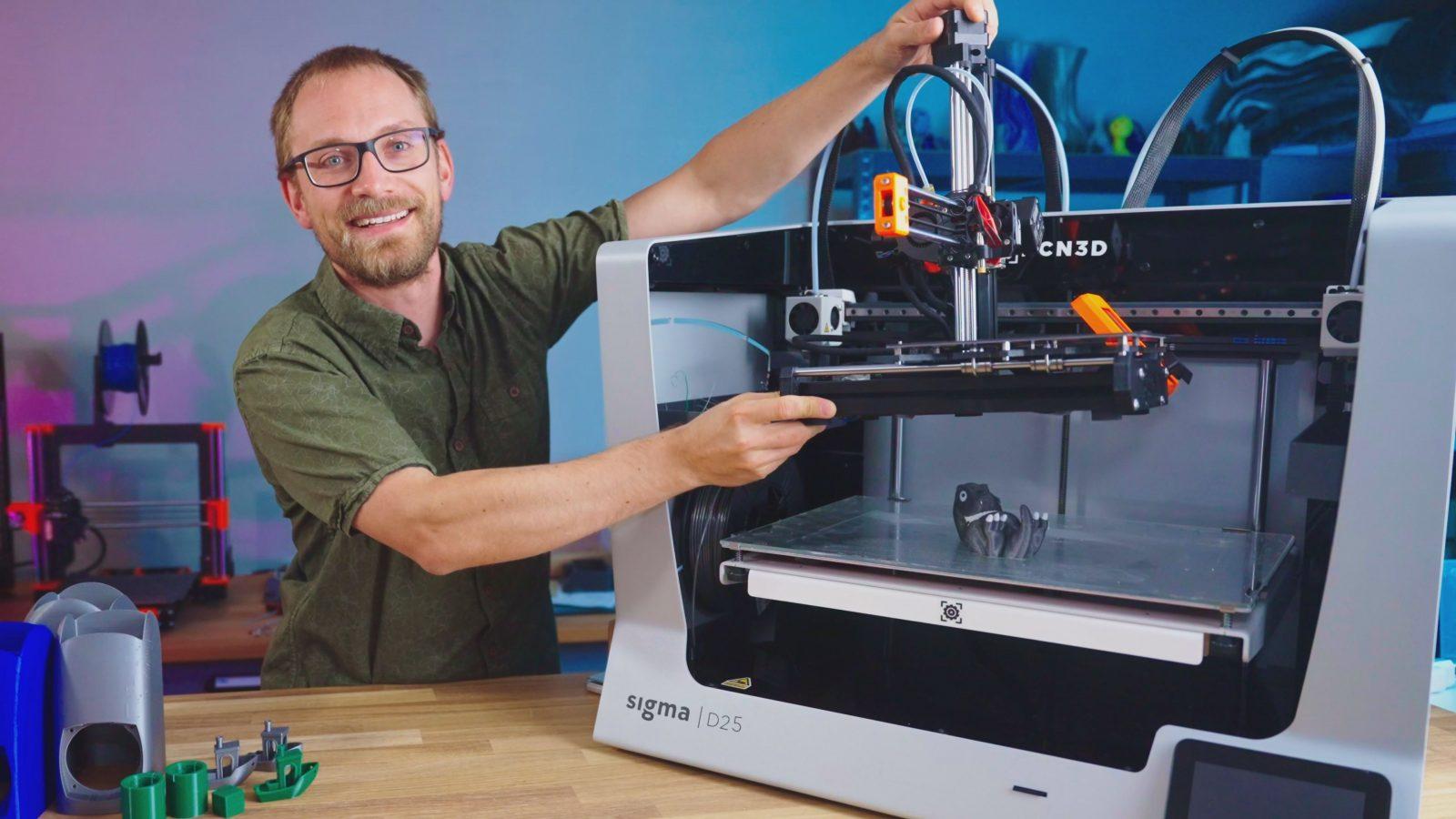 You are currently viewing La plus grosse imprimante 3D que j'aie jamais testée : La BCN3D Sigma D25 !