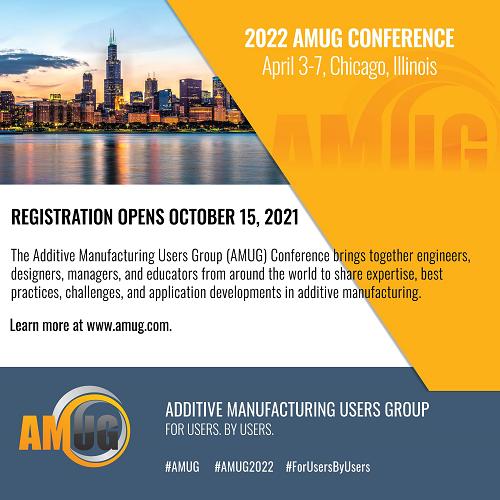 Read more about the article L'inscription en ligne est ouverte pour la conférence AMUG 2022 à Chicago