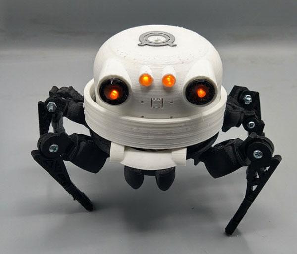 You are currently viewing Asi, un ami robot imprimé en 3D #Robots #Wearables #3dPrinting @DigiKey